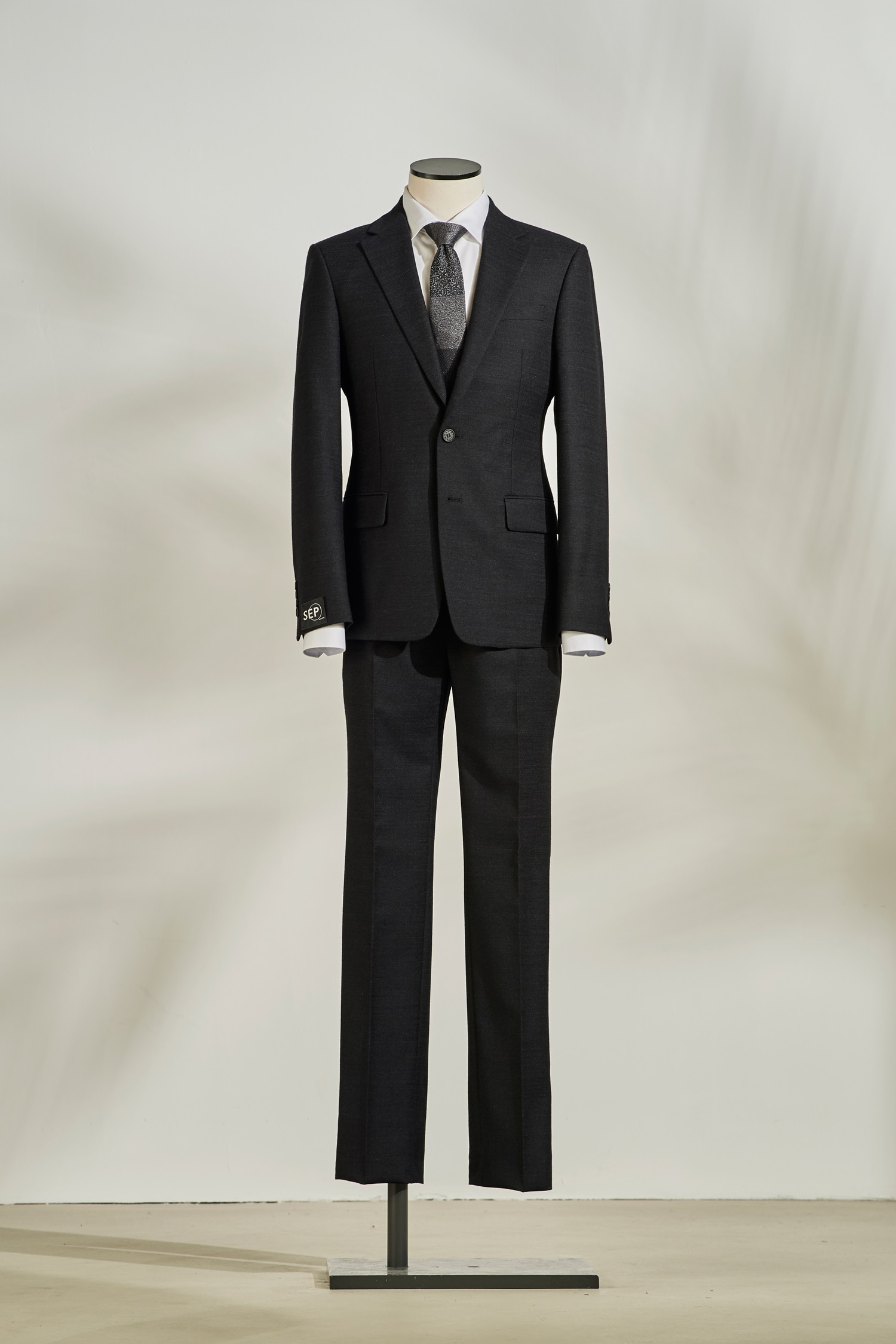 Black separatable suit