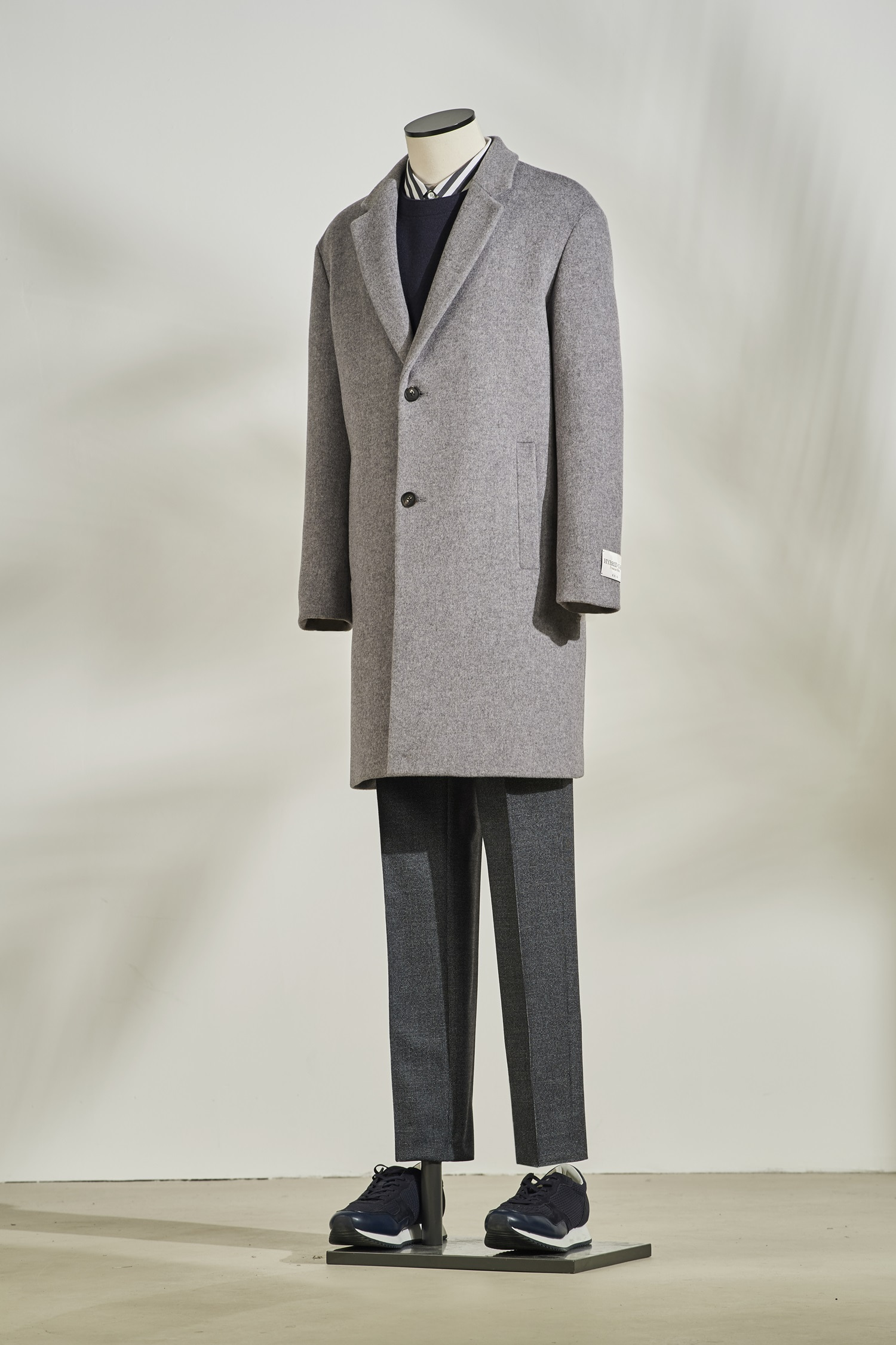 Woolcash Basic Coat #Grey