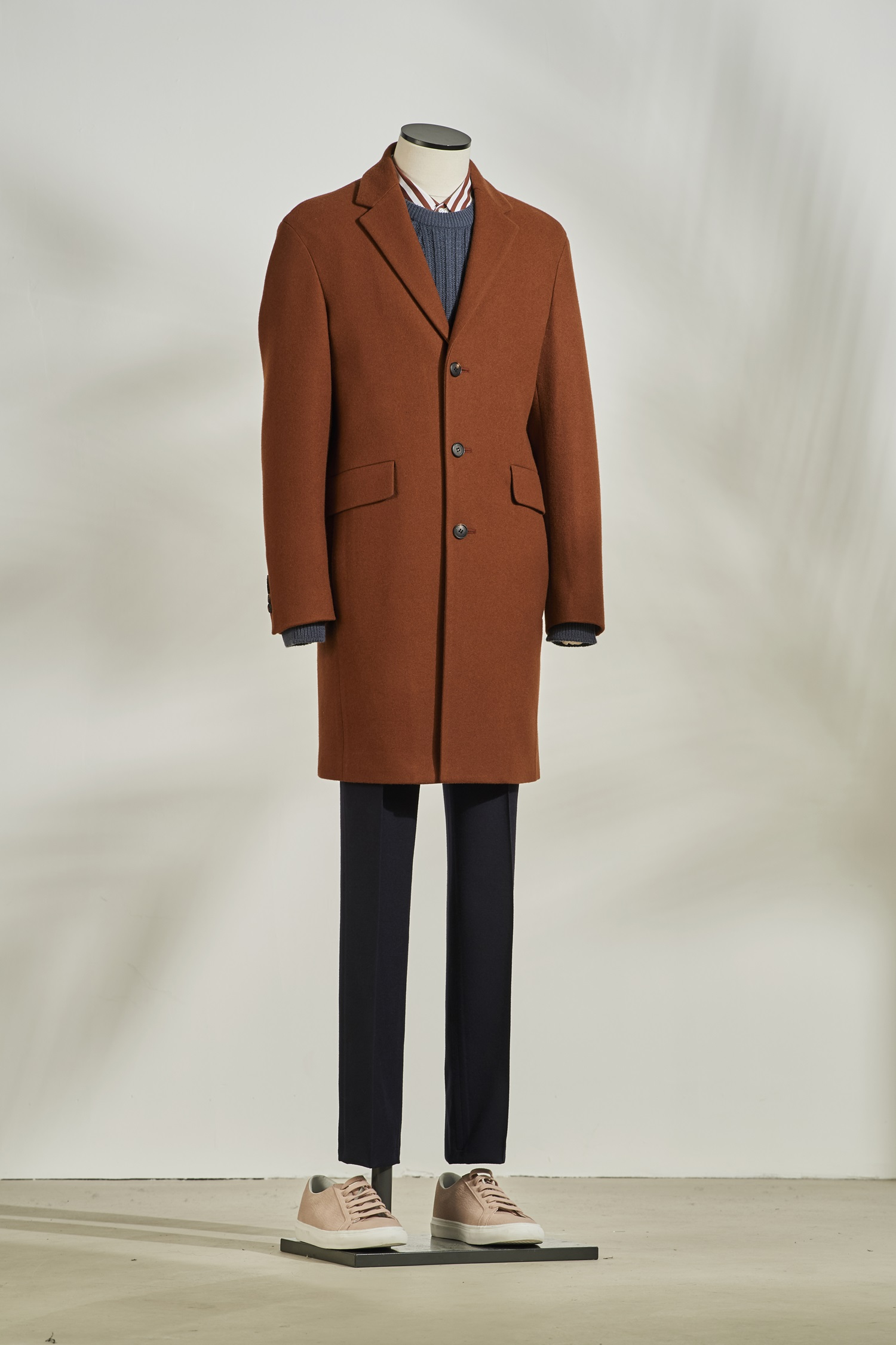 Cashmere Single Coat #Brick