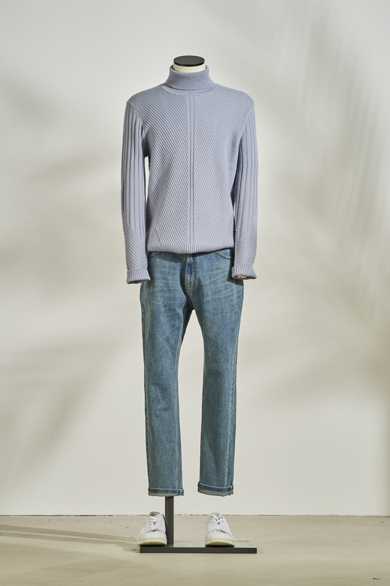 Fisherman Turtleneck #Blue
